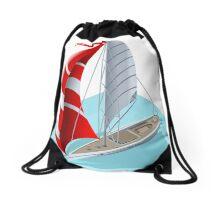 Sail Boat Set Drawstring Bag