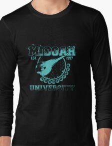 Midgar University Long Sleeve T-Shirt