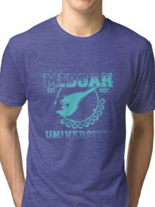 Midgar University Tri-blend T-Shirt