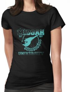 Midgar University Womens Fitted T-Shirt