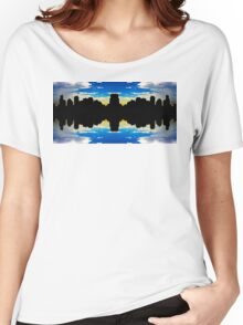City skyline Women's Relaxed Fit T-Shirt