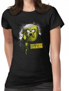 That yellow bastard Womens Fitted T-Shirt