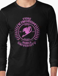 magnolia university pink Long Sleeve T-Shirt