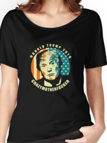 DONALD TRUMP POSTER Women's Relaxed Fit T-Shirt