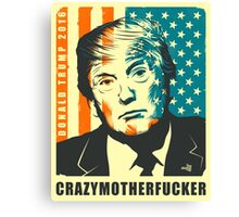 DONALD TRUMP POSTER Canvas Print