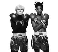 Basquiat X Warhol  Photographic Print