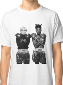 Basquiat X Warhol  Classic T-Shirt