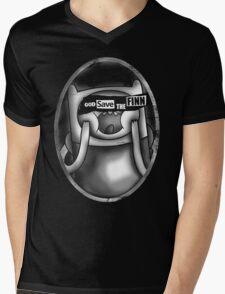 God Save the Finn Mens V-Neck T-Shirt