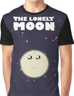 The lonely moon Graphic T-Shirt