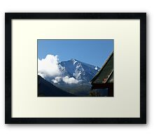 Mt Sopris Framed Print