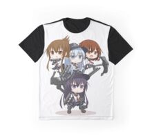 Chibi Kantai Graphic T-Shirt