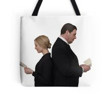Letter to Downton Anna & John Bates Tote Bag
