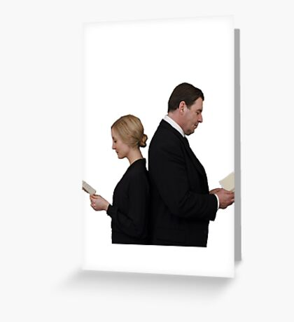 Letter to Downton Anna & John Bates Greeting Card