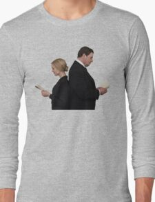 Letter to Downton Anna & John Bates Long Sleeve T-Shirt