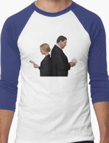 Letter to Downton Anna & John Bates Men's Baseball ¾ T-Shirt