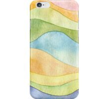Watercolor waves iPhone Case/Skin