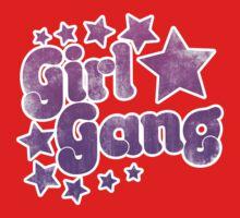 Vintage girl gang Kids Tee