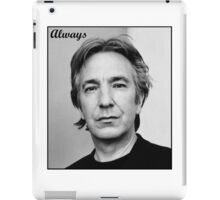 Alan Rickman iPad Case/Skin