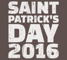St. Patrick's day 2016 Baby Tee