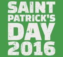 St. Patrick's day 2016 Kids Tee