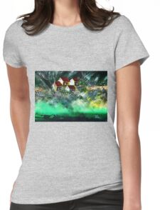Holiday Homes Womens Fitted T-Shirt