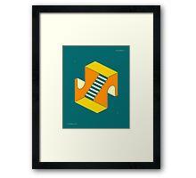 EMERGENCY EXITS 17 Framed Print
