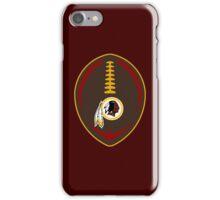 Redskins Vector Football  iPhone Case/Skin