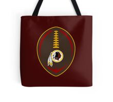Redskins Vector Football  Tote Bag