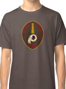 Redskins Vector Football  Classic T-Shirt