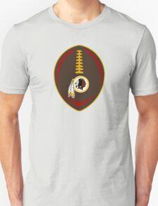 Redskins Vector Football  Unisex T-Shirt