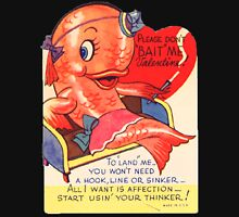 Vintage Valentine smoking fish T-Shirt