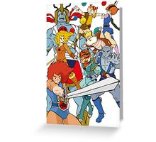 Little Cuties: Thundercats Greeting Card