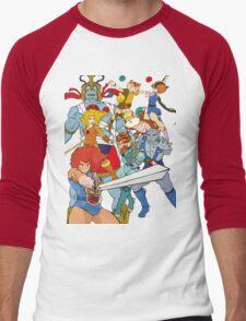 Little Cuties: Thundercats Men's Baseball ¾ T-Shirt