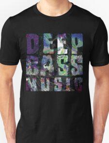 deep bass music logo float T-Shirt