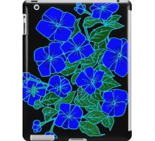 Blue Violets #6 iPad Case/Skin