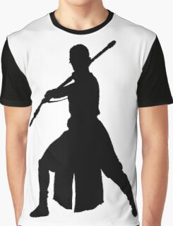 Rey Silhouette Graphic T-Shirt