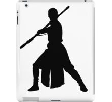 Rey Silhouette iPad Case/Skin