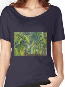 Euca - Leaves Section  Women's Relaxed Fit T-Shirt