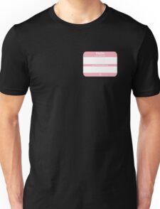 Hello, My PRONOUNS Are (Transfemale Pink) Unisex T-Shirt