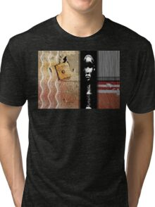urban shaman downtown 3 Tri-blend T-Shirt
