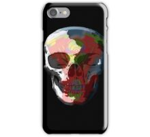 V Twin Skull red iPhone Case/Skin