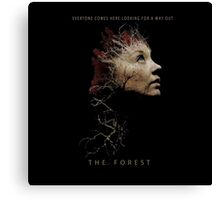 The Forest movie 2016 Canvas Print