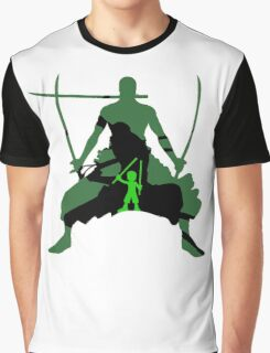 Roronoa Zoro, 3 generation Graphic T-Shirt