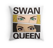 SwanQueen Comic Throw Pillow