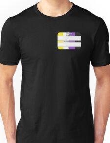 Hello, My PRONOUNS Are (Nonbinary Pride Edition) Unisex T-Shirt