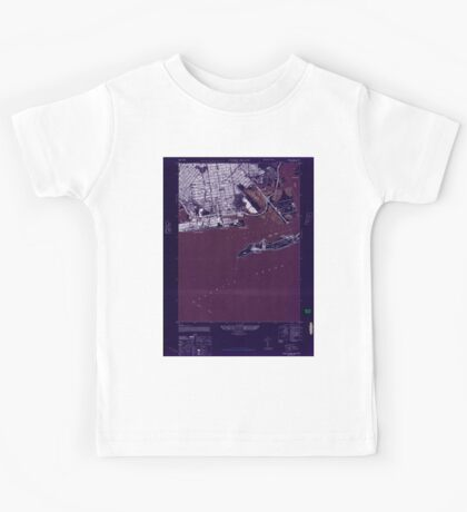 New York NY Coney Island 137694 1947 24000 Inverted Kids Tee
