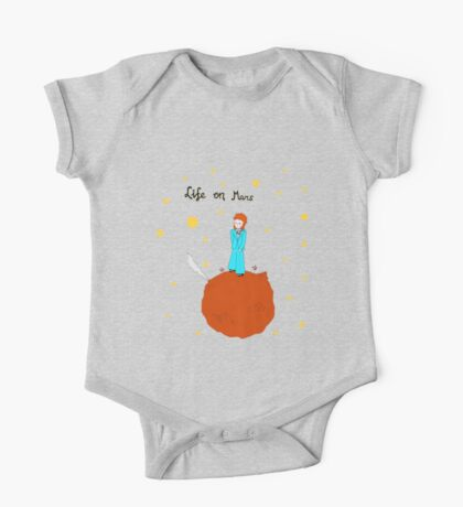 BOWIE LIFE ON MARS One Piece - Short Sleeve