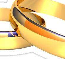 Golden Ring Sticker