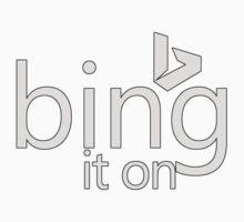 Bing It On (Old Style II) Kids Tee