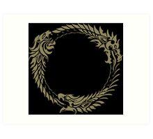 Elder Scrolls Online Logo Art Print